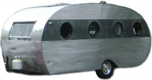 Vintage Airfloat travel trailer