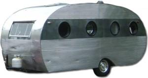 Vintage Airfloat travel trailer