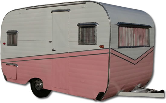 Vintage Aloha Trailers - My Vintage Travel Trailer on