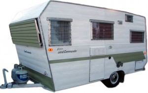 Vintage Aristocrat travel trailer