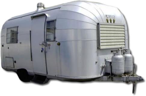 Vintage Avion trailer