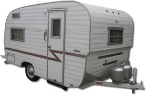 Vintage Forester travel trailer