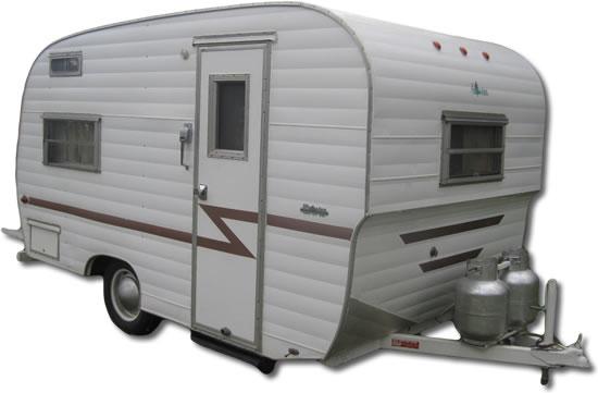 Vintage Forester trailer
