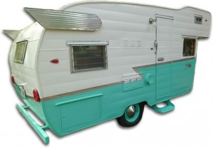 Vintage Shasta travel trailer