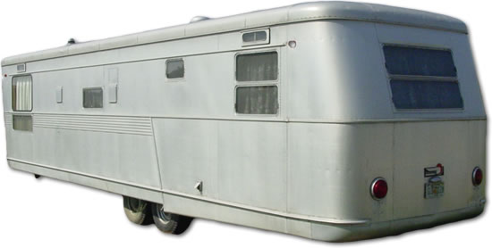 Vintage Spartan travel trailer