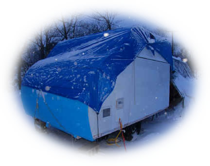 Winterize an RV camper trailer